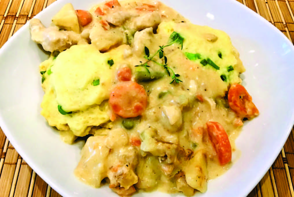Shortcut Chicken & Dumplings